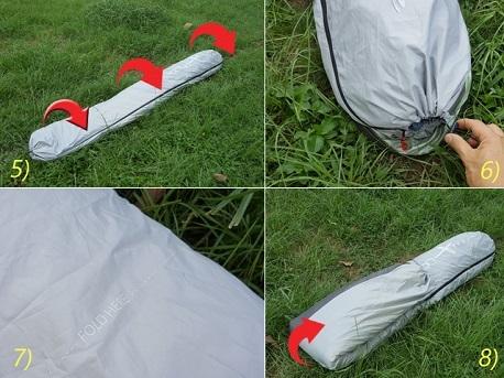 Para Supply paragliding cocoon Xlite Z concertina bag fast packing bag packing instruction 7.jpg